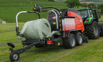 Kuhn Balers To Form Different Shapes Of Hay Compounds Like